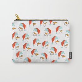 Santa Claus pattern Carry-All Pouch