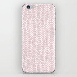 Hand Knit Bubblegum iPhone Skin