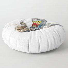 No Place Like Home (Wordless) Floor Pillow