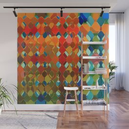 Abstract Composition 614 Wall Mural