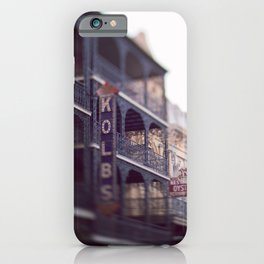 Morning Light in the French Quarter iPhone Case