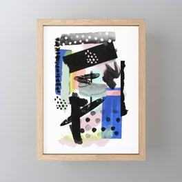 Abstract Modern No. 29 Framed Mini Art Print