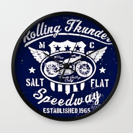 MotoBiKe RiDe 7 Wall Clock