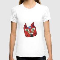 diablo T-shirts featuring Gato Diablo by Scribblebro