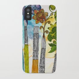 Brushtopia iPhone Case