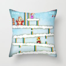 Unicorn Kong Throw Pillow