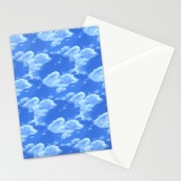 Blue Skies Photographic Pattern #2 Stationery Cards