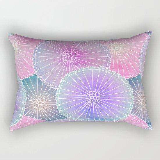 Floral Pattern 16 Rectangular Pillow