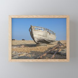 Dungeness Beach Framed Mini Art Print