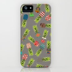 Crazy Pineapple Party iPhone (5, 5s) Slim Case