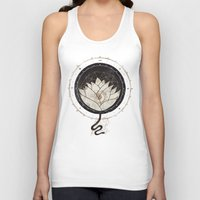 lotus flower Tank Tops featuring Lotus by Hector Mansilla
