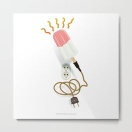 Dreaming of Warm Popsicles by Thom Van Dyke Metal Print