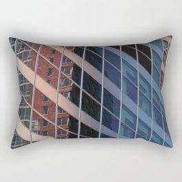Manhattan Windows - Belts  Rectangular Pillow