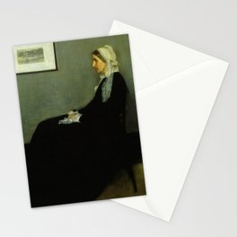 WHISTLERS MOTHER - JAMES ABBOTT MCNEILL WHISTLER Stationery Cards