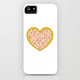 Pizza is Love iPhone Case