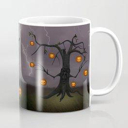 SCARY HALLOWEEN TREE Coffee Mug
