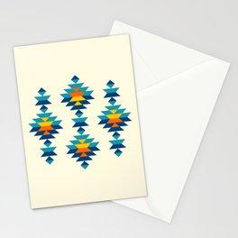 Bohemian southwest kilim rows Stationery Cards