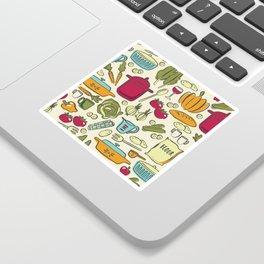 Cookin' Sticker