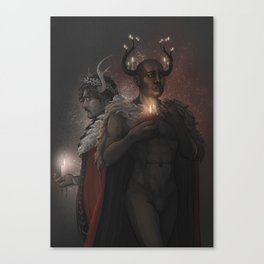 Winter Kings Canvas Print
