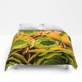 Succulent Overdose Comforters