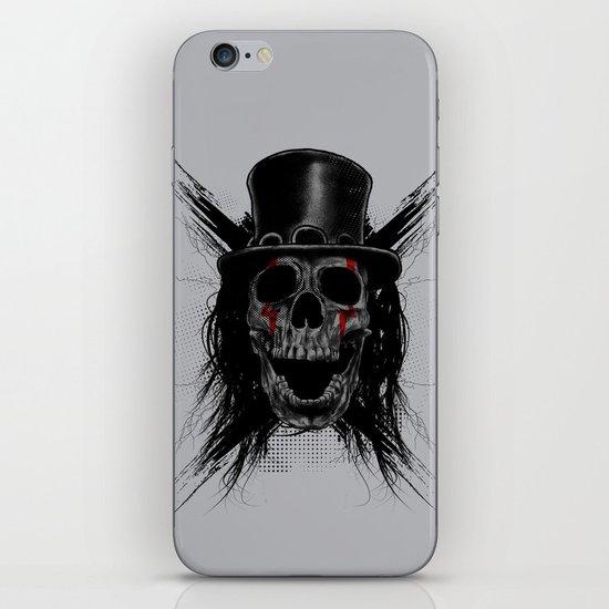 Skull Hat iPhone & iPod Skin