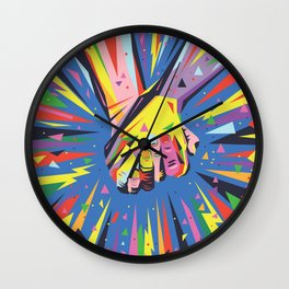 Band Together - Pride Wall Clock