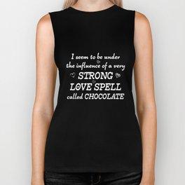 Under Influence of a Love Spell called Chocolate T-Shirt Biker Tank