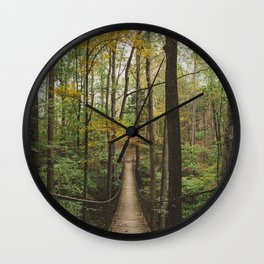 A Walk in the Woods, No. 2 Wall Clock