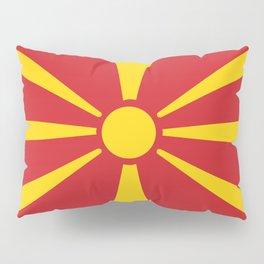 Macedonia country flag Pillow Sham