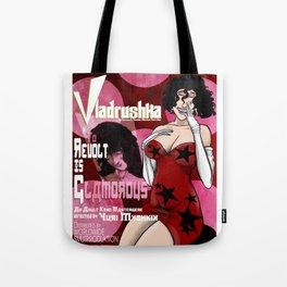 VLADRUSHKA: Revolt Is Glamorous Tote Bag