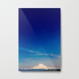 Mt. Rainier . ii Metal Print