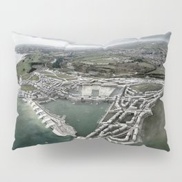 Flood Resilient Townscape - Par Docks Pillow Sham