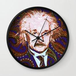 psychedelic quantum physics genius E = mc2 Wall Clock