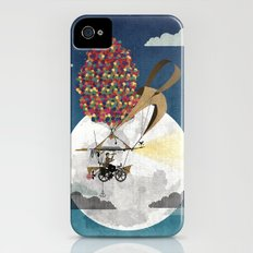 Flying Bicycle iPhone (4, 4s) Slim Case