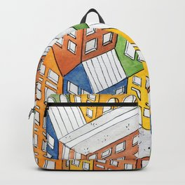 House on house Backpack