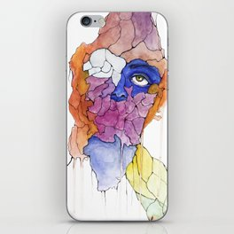 The Blue Beneath the Technicolor Vale iPhone Skin