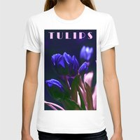 tulips T-shirts featuring TULIPS by CAPTAINSILVA