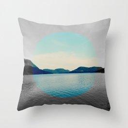 Circled life Throw Pillow
