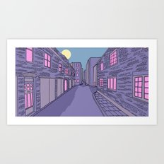 25 Durweston Street, London Art Print