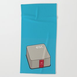 Escape Key Beach Towel