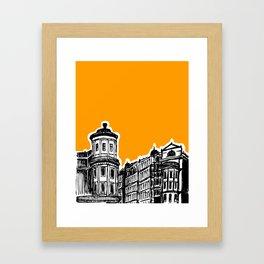King William IV Street Framed Art Print