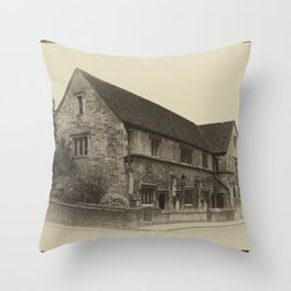 Masonic Lodge Bradford on Avon Throw Pillow