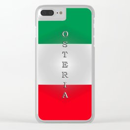 Italia Osteria Clear iPhone Case