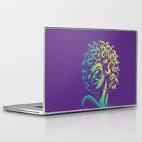 funky Laptop & iPad Skins featuring Funky Medusa by Waynem