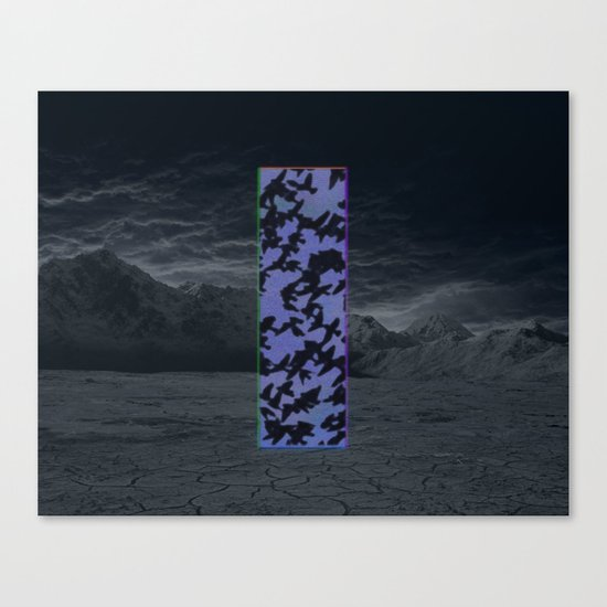 """Welcome Oblivion"" by Tim Lukowiak Canvas Print"