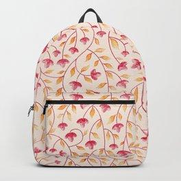 Botanical: Beige Vine Backpack