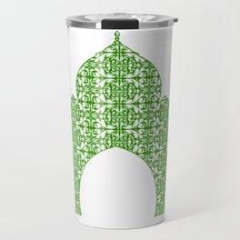 Taj Mahal Art Travel Mug