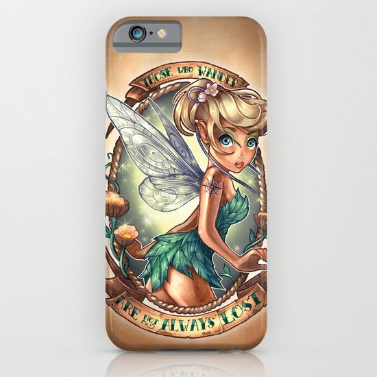 Those Who Wander Are Not Always Lost iPhone & iPod Case