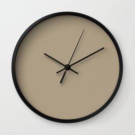 Cold Shoulder ~ Khaki Wall Clock