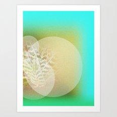 Cactus aliment Art Print